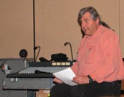 Albert Leccese Teaching At A SynAudCon Seminar